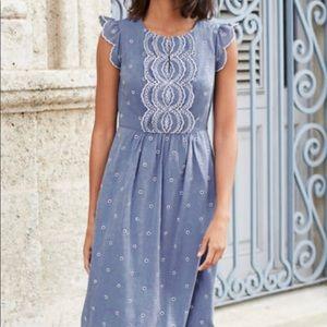Boden Lucinda Broderie Dress